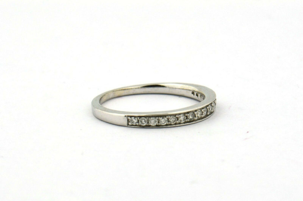 14KW 0.25CTTW Round Diamond Prong Set Wedding Band I1-SI2 H-I 2.4G Size 7.25 - Jewelry Works