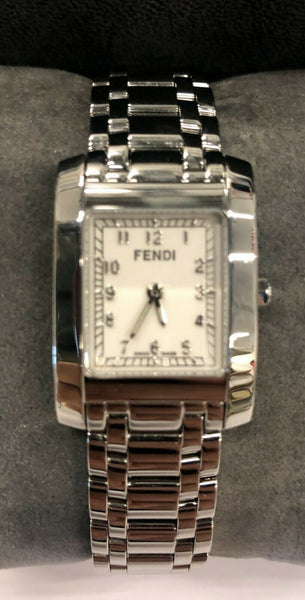Stainless Steel Ladies Fendi Orologi Wristwatch - Jewelry Works