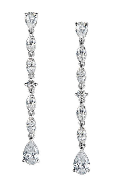 Elegant Drop Earrings 8E027CLP