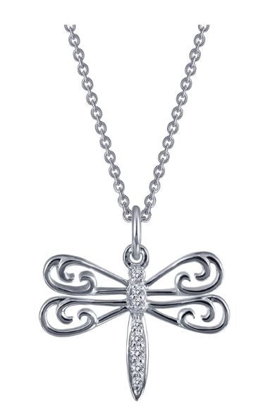 9P047CLP Dragonfly Pendant - Jewelry Works