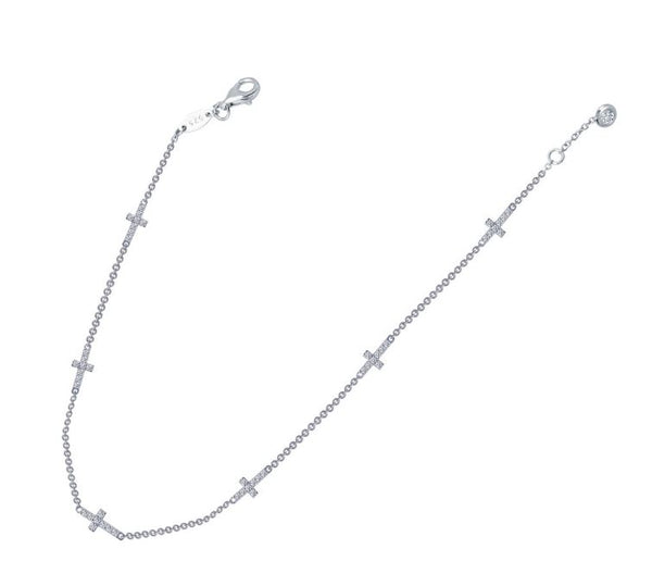 A0017CLP Cross Anklet - Jewelry Works
