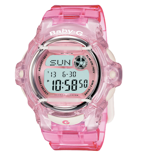 Casio Baby-G BG169R-4 Pink Resin Women's Watch - Jewelry Works