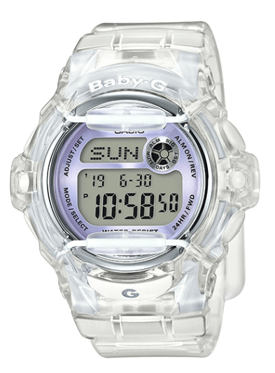 Casio Baby-G BG169R-7E Gray Women's Watch - Jewelry Works