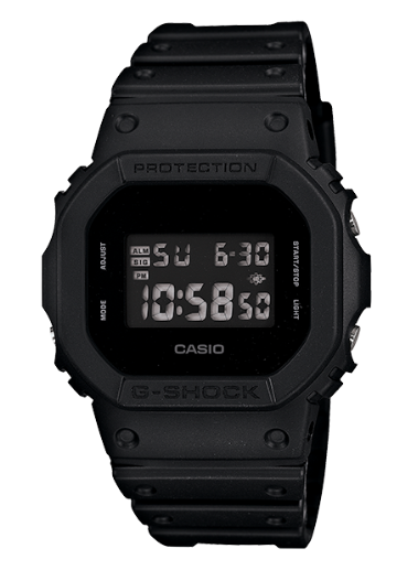 Casio G-Shock DW5600BB-1 Black Men's Watch - Jewelry Works