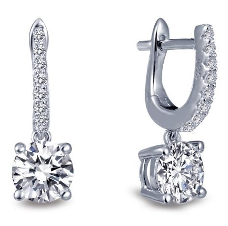 Simulated Diamond Earrings E0219CLP