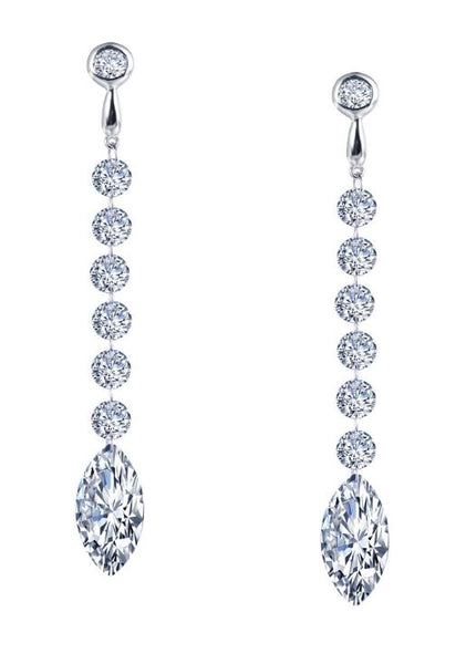 Seven Drop Marquise Earrings E0280CLP