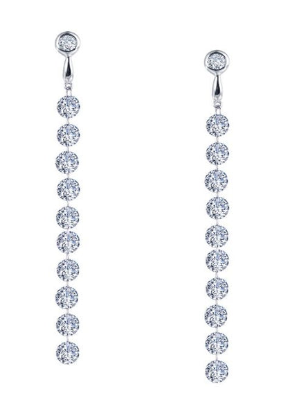 Frameless Drop Earrings E0281CLP