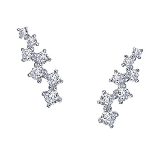 Constellation Simulated Diamond Earrings E0393CLP - Jewelry Works