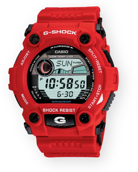 Casio G-Shock G7900A-4 Rescue Red Resin Men's Watch - Jewelry Works