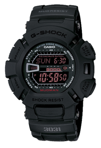 Casio G-Shock G9000MS-1 Mudman Black Resin Men's Watch - Jewelry Works