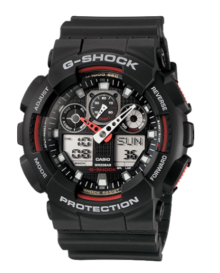 Casio G-Shock GA100-1A4 Black Men's Watch - Jewelry Works