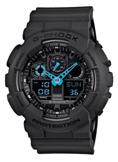 Casio G-Shock GA100C-8A  Gray Men's Watch - Jewelry Works