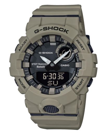 Casio G-Shock GBA800UC-5A POWER TRAINER Men's Watch - Jewelry Works