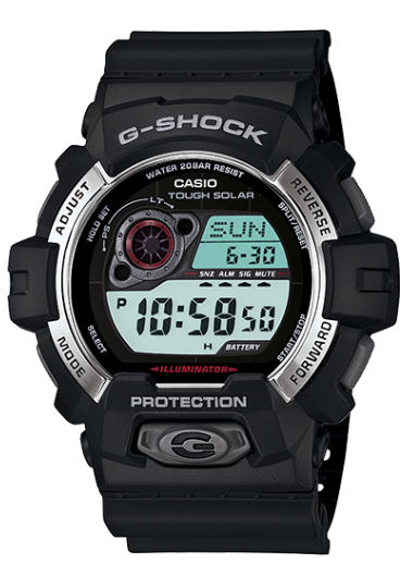 Casio G-Shock GR8900-1 Black Resin Men's Watch - Jewelry Works