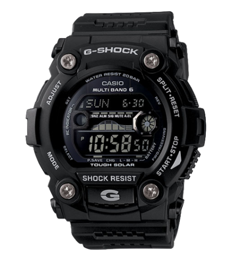 Casio G-Shock GW7900B-1 G-Rescue Black Resin Men's Watch - Jewelry Works