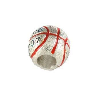 Gator Bead 2006-2007 Enameled Sterling Silver Basketball Championship