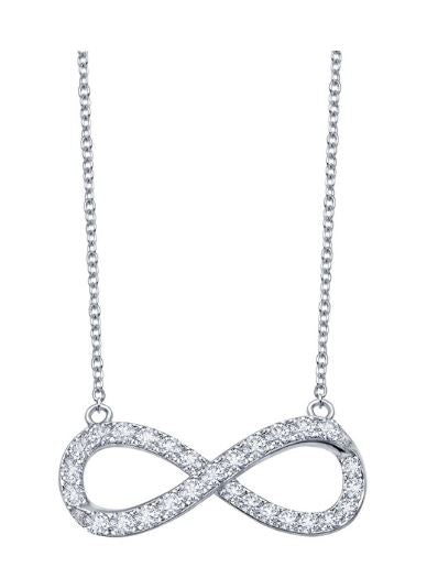N0017CLP Infinity Necklace - Jewelry Works