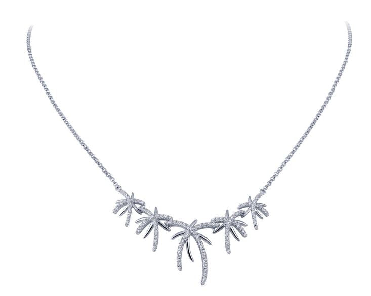 N0044CLP Palm Tree Necklace