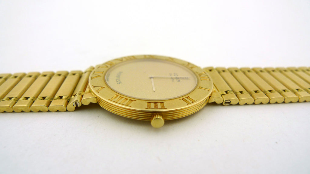 18K Yellow Gold Corum Wrist Watch with Original Paperwork - Jewelry Works