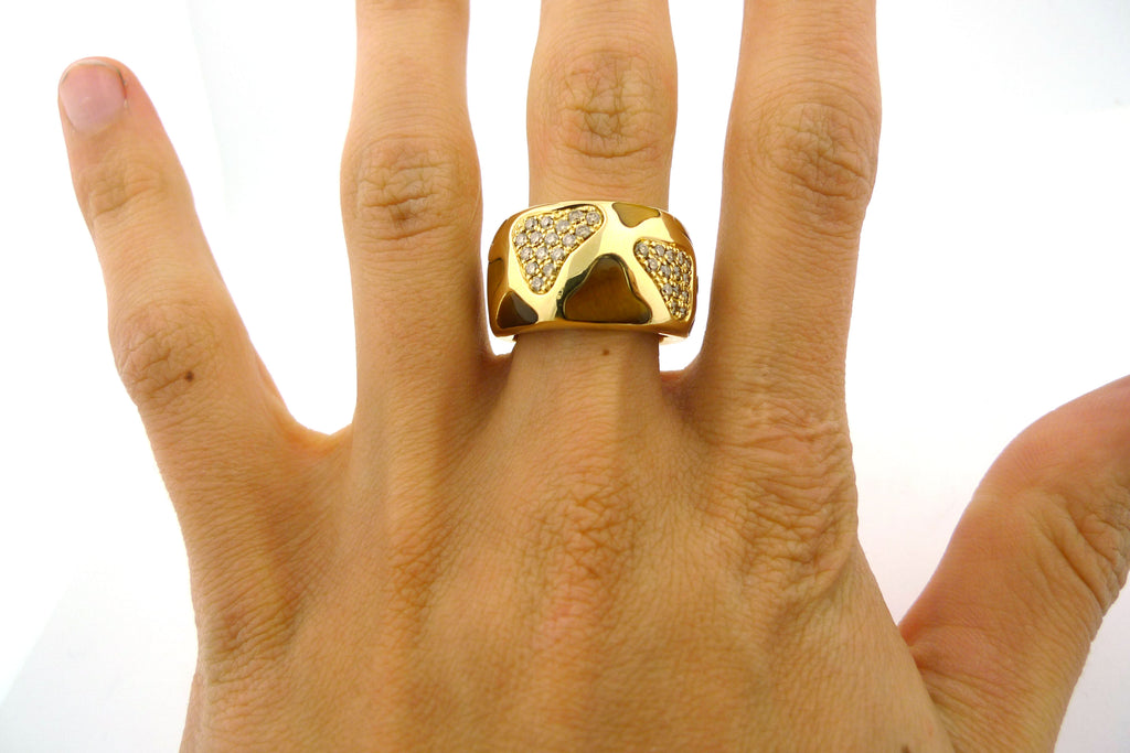 18K Yellow Gold Roberto Coin Giraffe Ring