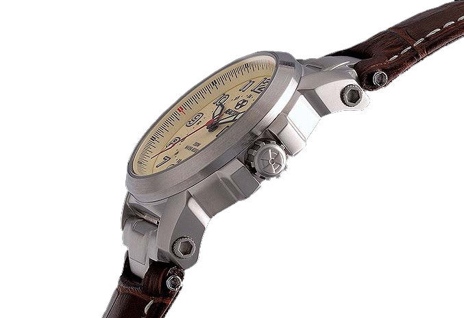 Reactor Atom Stainless Steel Men's Watch - Jewelry Works