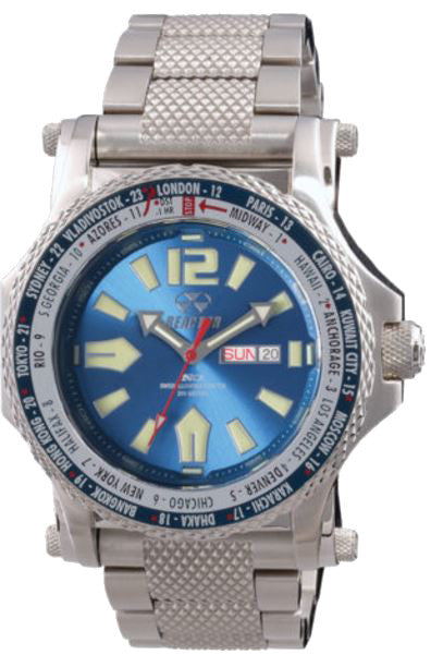 Reactor Men's Proton World Time Chronograph Watch - Jewelry Works