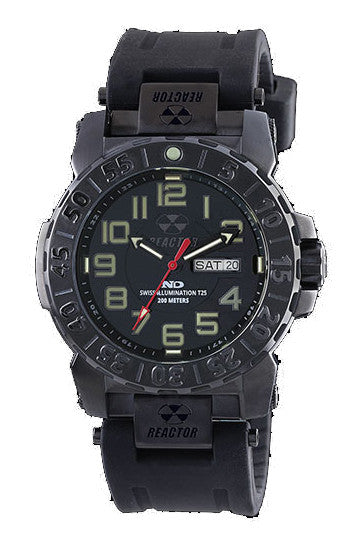 Reactor Men's Trident 2 Dive Watch with Never Dark Technology - Jewelry Works