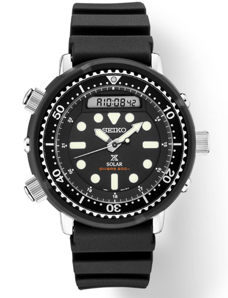 Seiko SNJ025 Prospex Solar Men's Dive Watch - Jewelry Works