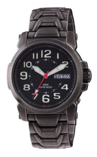 Reactor Atom Stainless Steel Men's Watch