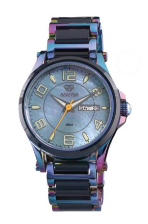 Reactor Crystal Stainless Steel and Ceramic Ladies' Watch