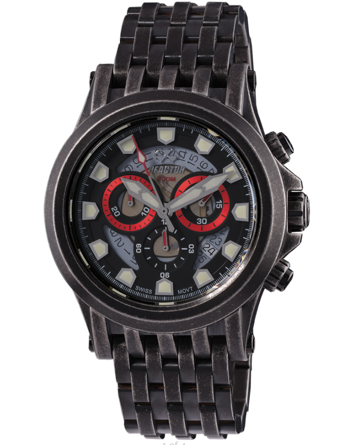 Reactor Einstein Stainless Steel Men's Watch