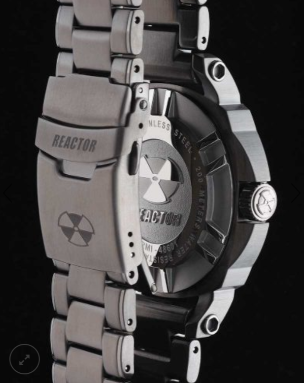 Reactor Fermi Stainless Steel Men's Watch - Jewelry Works