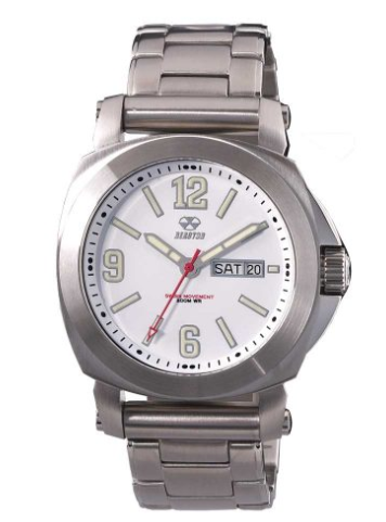 Reactor Fermi Stainless Steel Men's Watch