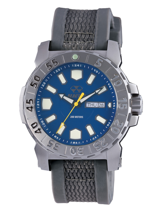 Reactor Men's Meltdown 2 Stainless Steel Dive Watch