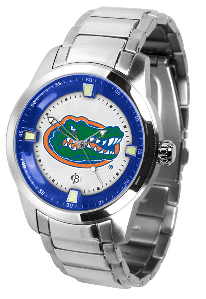 Suntime Men's Titan Steel Florida Gators Watch - Jewelry Works