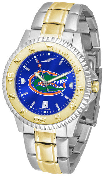 Suntime Men's Competitor Two-Tone AnoChrome Florida Gators Watch - Jewelry Works