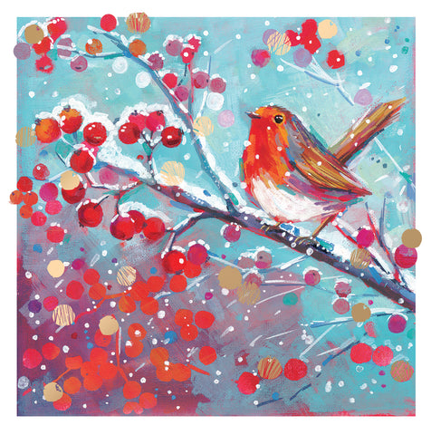 Christmas Cards - 'Robin'
