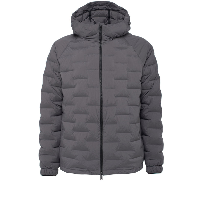 Skin-Nylon Light Defense Down Jacket / Smoke Grey