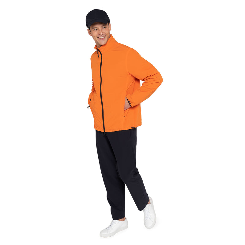 MONOBI + VIROBLOCK / Journey Windbreaker Jacket Vitaminic Orange