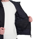 Skin-Nylon Light Defense Down Jacket / Black Raven