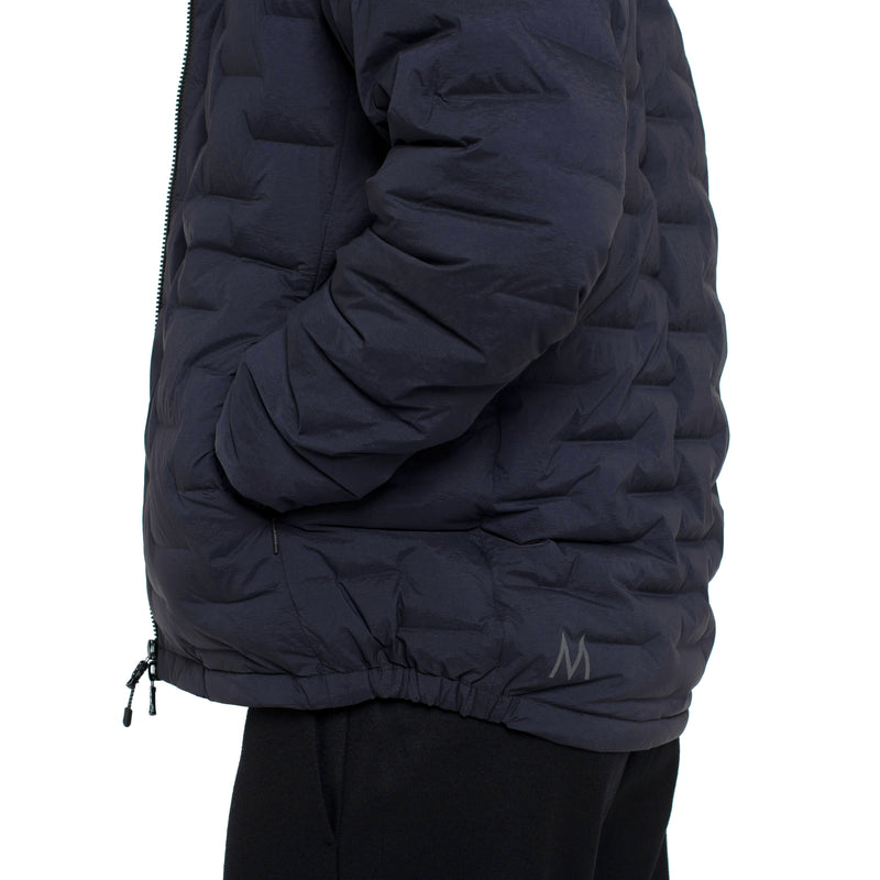 Skin-Nylon Light Defense Down Jacket / Blue Navy