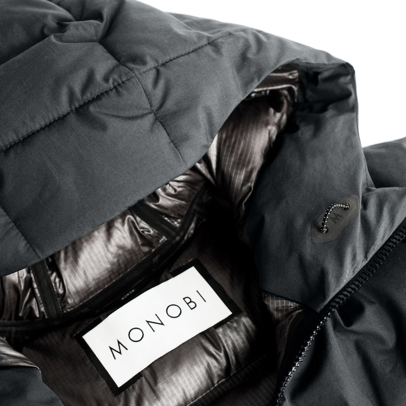 Cotton+ Defense Down Jacket / Charcoal Grey