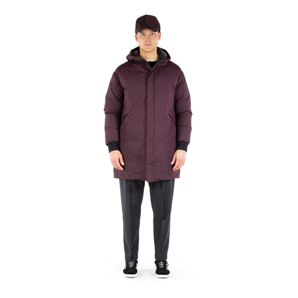 Battle Down Parka / Sangria Red