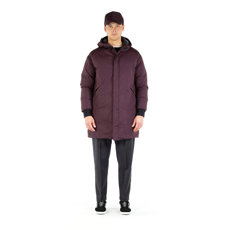 Battle Down Parka / Brown Charcoal