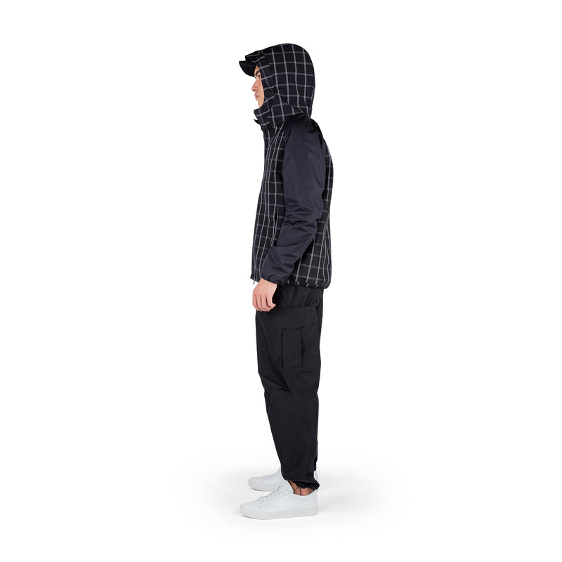 Cordura Windbreaker 3L / Black Check