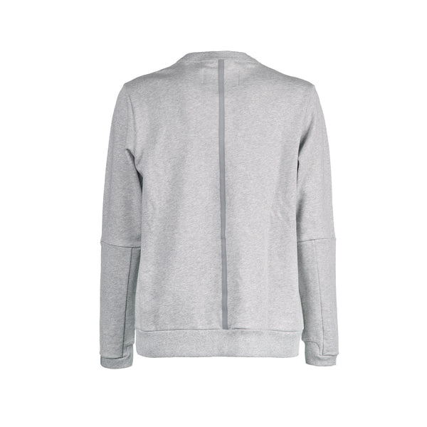 Crew Neck / Light Grey Mel
