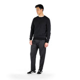 Crew Neck Sweater / Dark Grey Mel