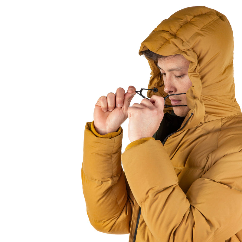 Defense Down Jacket / Moustard Yellow