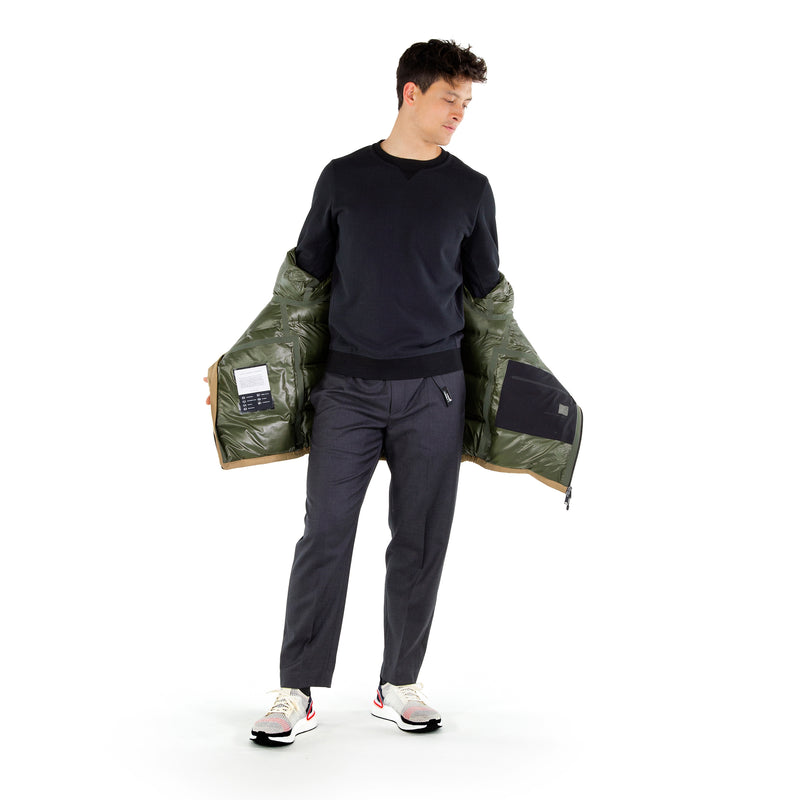 Defense Down Jacket / Forest Green