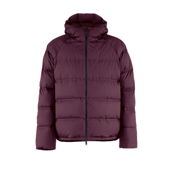 Defense Down Jacket / Sangria Red